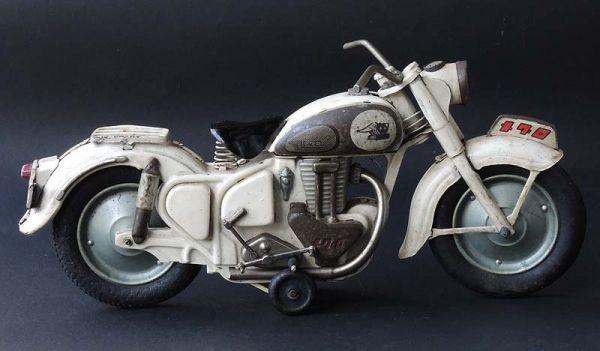 ≫白犬≪ ≫ オートバイ メグロ 白  長さ約30cm ≪_画像5