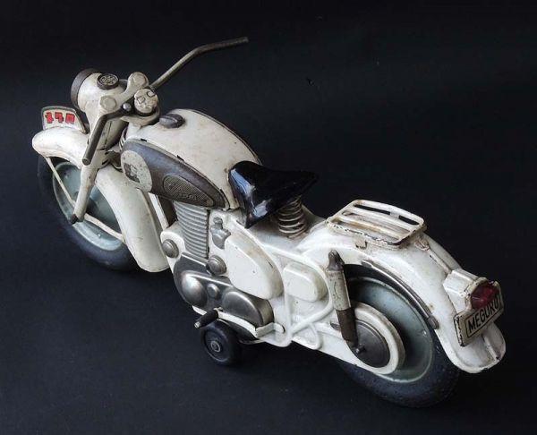 ≫白犬≪ ≫ オートバイ メグロ 白  長さ約30cm ≪_画像3
