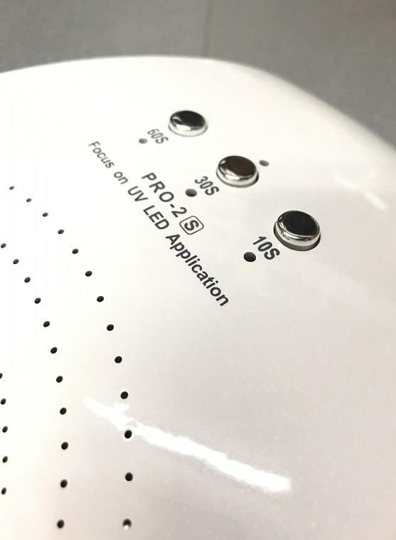 ★ ジェルネイル ライト LEDライト UVライト ネイルライト 硬化ライト ネイルドライヤー 36W センサータイマー ネイル用品 セルフネイル 爪_画像5