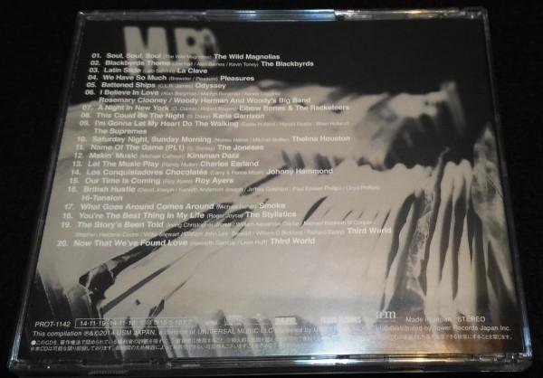 MURO/Diggin' free soul Let The Music★タワレコ限定 フリーソウル ムロ Blackbyrds Johnny Hammond _画像3