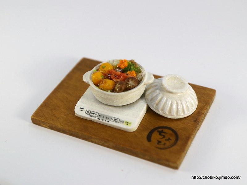 ちょび子★ミニチュア鍋料理★みかん鍋他_画像6