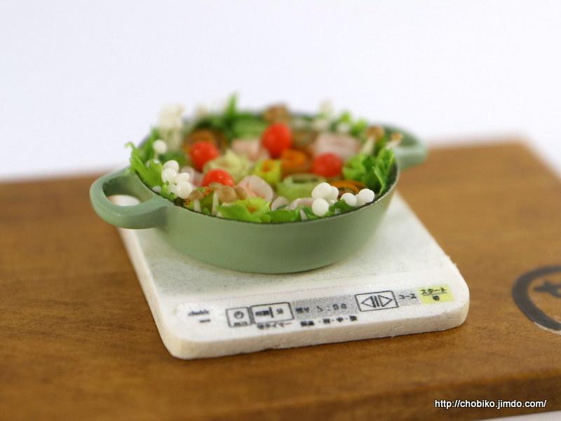 ちょび子★ミニチュア鍋料理★みかん鍋他_画像9