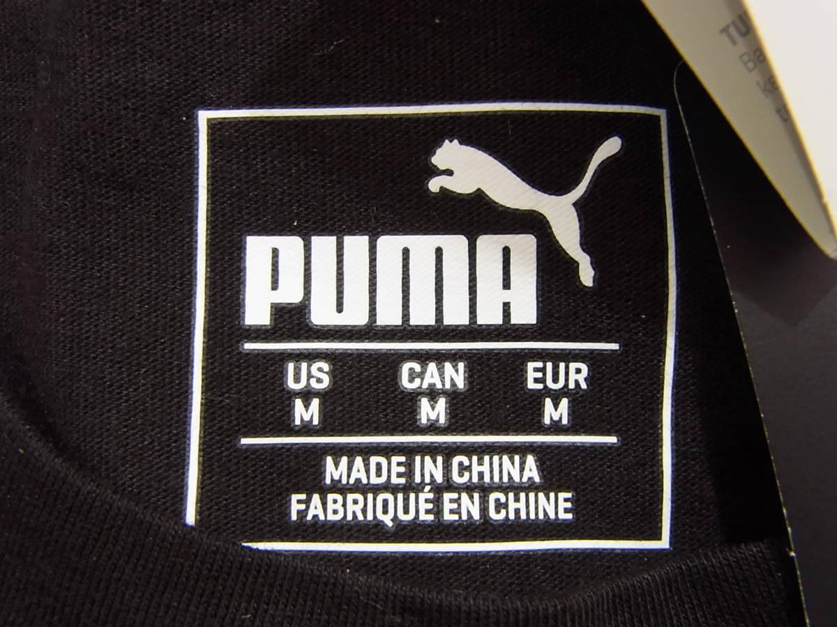 送料250円~新品2018PUMA x Scuderia Ferrariコレクション黒フェラーリ ビッグシールドTシャツMメンズ(Lサイズ相当)576684_02プーマブラック_画像10