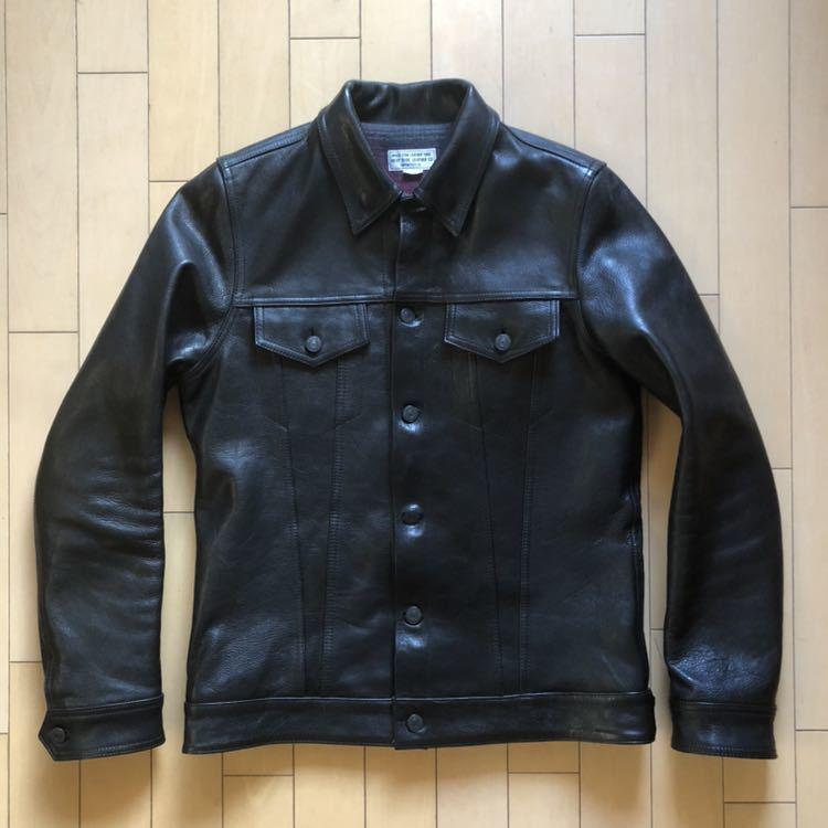ウエストライド WESTRIDE DEANジャケット サイズ38 ディーンジャケット リアルマッコイズ