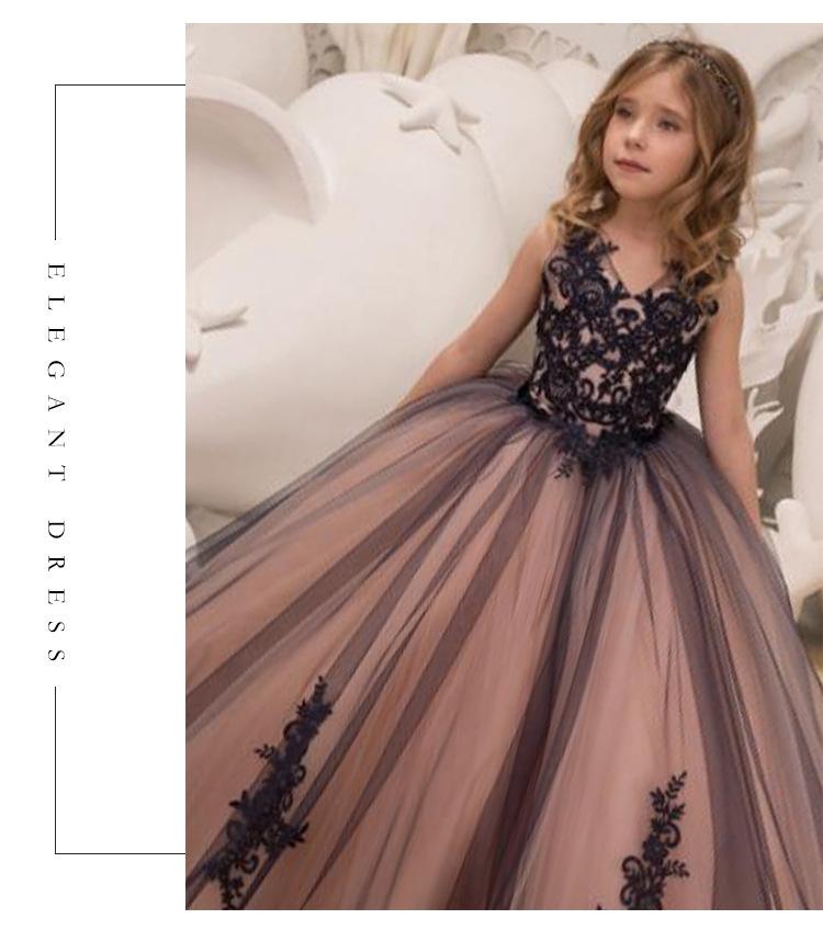 新品  子供ドレス   演奏会  発表会  誕生日  七五三  ステージ 100~160サイズ選択可能  01KZ_画像2