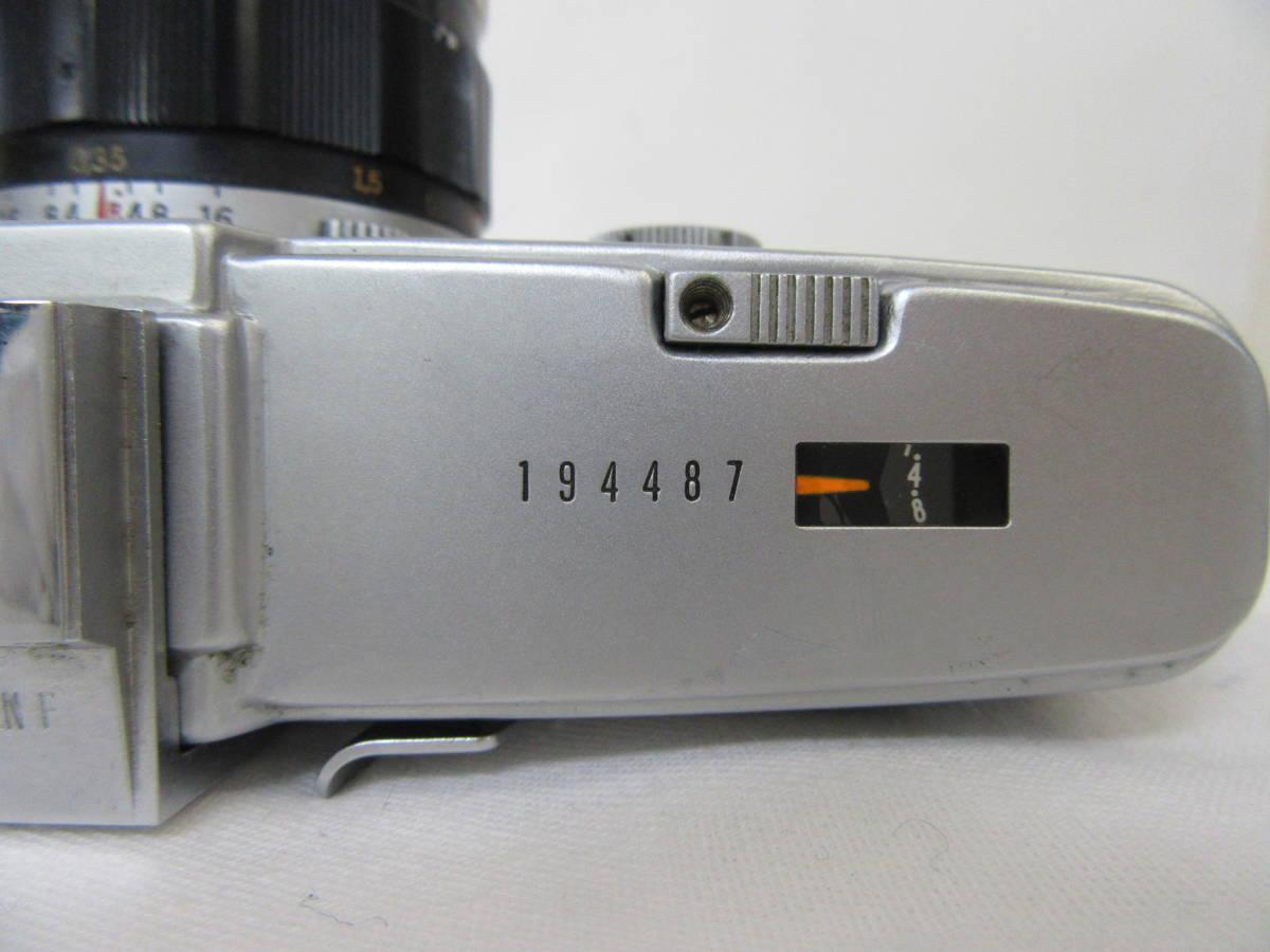 【OLYMPUS/PEN-F】⑬/Auto-S 1:1.4 f=40mm/No.194487/カビ汚れあり_画像4