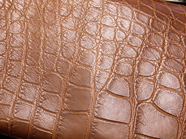極上品 マウロゴヴェルナ Dion別注 最高級リアルマットクロコダイルレザー斜め掛けストラップ付きハンドバッグ 2WAYクロコバッグ 本物 正規_画像6