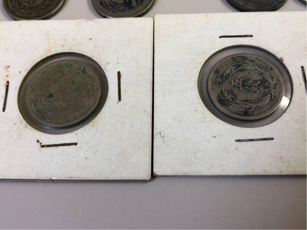 日本 古銭 稲5銭白銅貨 大量 まとめ_画像4