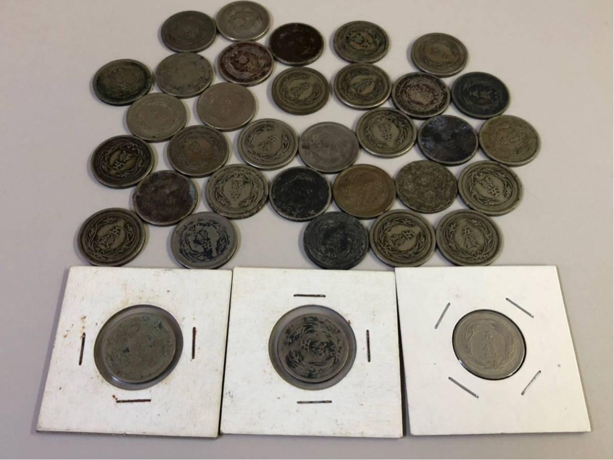 日本 古銭 稲5銭白銅貨 大量 まとめ