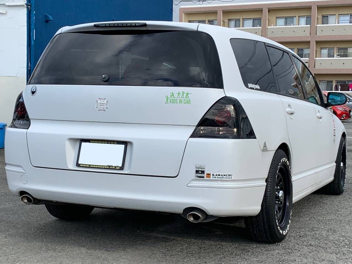 世田谷ベース風! オデッセイ H17年式 2.4HDDナビエディション 車検2年付 USDM デイトナ風_画像4