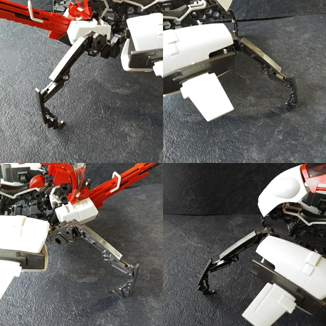 組立済みのためジャンク扱い 1/24 ヘキサギアセット ガバナー ライトアーマー ローズ&ブロックバスター コトブキヤ オリジナルプラモデル _画像4