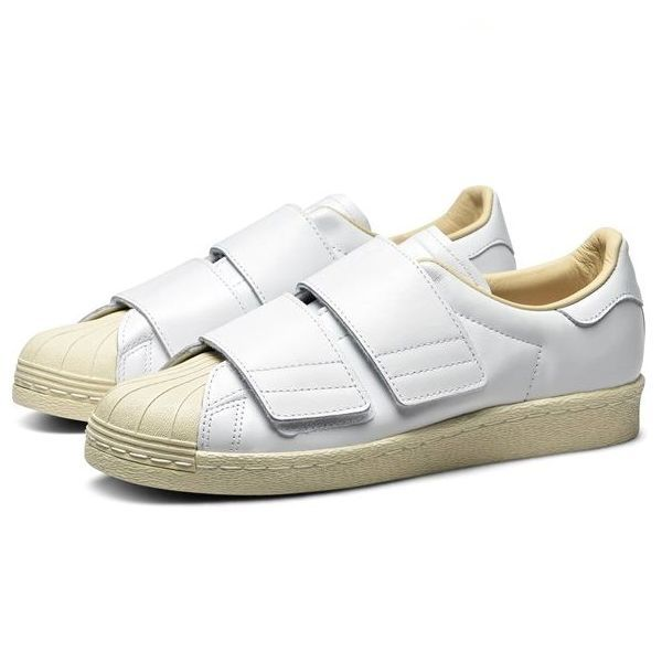 新品 adidas Originals アディダス オリジナルス SS 80s VELCRO W スーパースター 80s ベルクロ CQ2447 ランニングホワイト 27.5cm 8002
