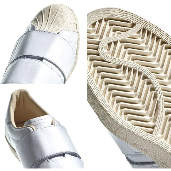 新品 adidas Originals アディダス オリジナルス SS 80s VELCRO W スーパースター 80s ベルクロ CQ2447 ランニングホワイト 27.5cm 8002_画像7