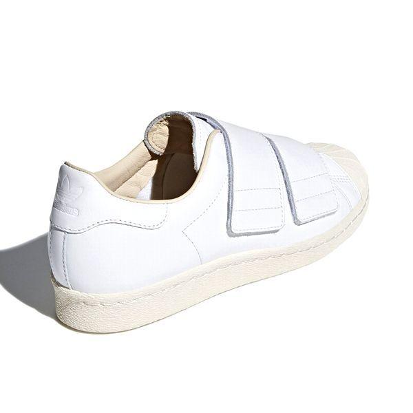 新品 adidas Originals アディダス オリジナルス SS 80s VELCRO W スーパースター 80s ベルクロ CQ2447 ランニングホワイト 27.5cm 8002_画像6