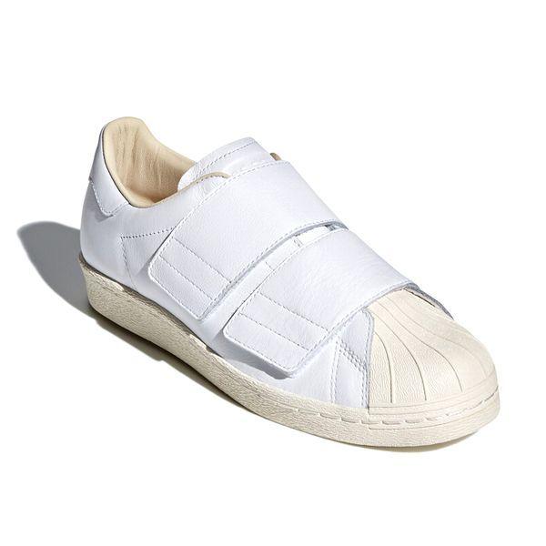 新品 adidas Originals アディダス オリジナルス SS 80s VELCRO W スーパースター 80s ベルクロ CQ2447 ランニングホワイト 27.5cm 8002_画像5
