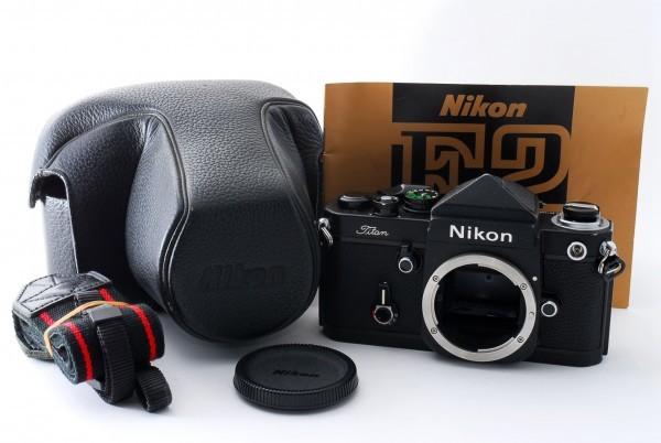 #4915 美品★ニコン Nikon F2 Titan チタン ブラック ボディ★ワンオーナー