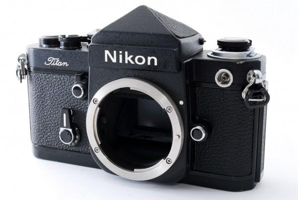 #4915 美品★ニコン Nikon F2 Titan チタン ブラック ボディ★ワンオーナー_画像2