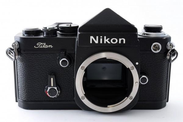 #4915 美品★ニコン Nikon F2 Titan チタン ブラック ボディ★ワンオーナー_画像3