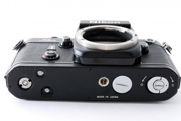 #4915 美品★ニコン Nikon F2 Titan チタン ブラック ボディ★ワンオーナー_画像9