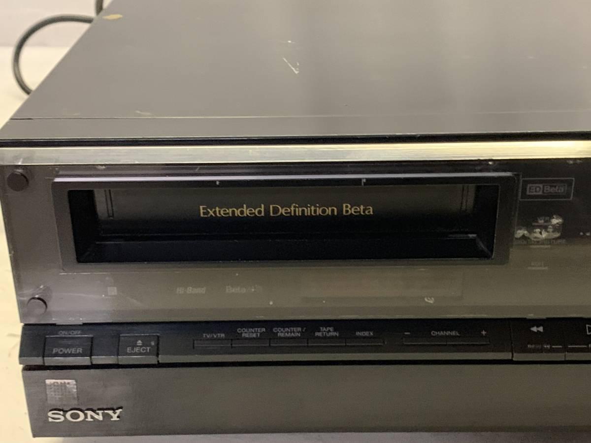 SONY EDV-9000 ベータビデオデッキ ジャンク_画像2