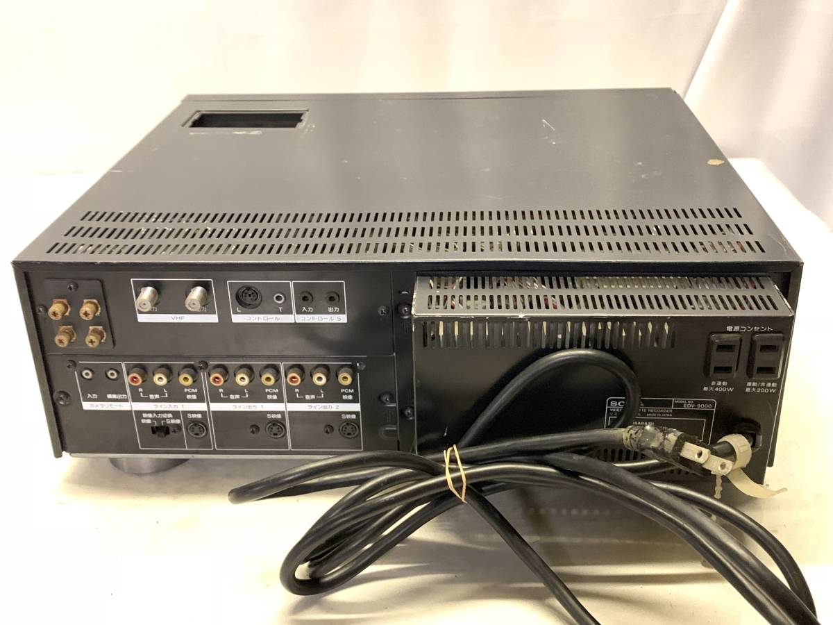SONY EDV-9000 ベータビデオデッキ ジャンク_画像6