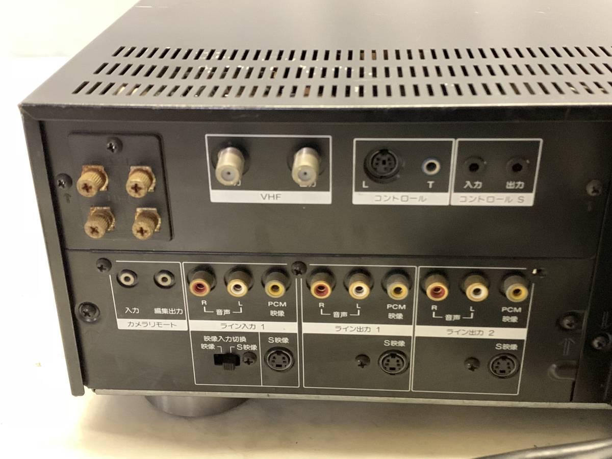 SONY EDV-9000 ベータビデオデッキ ジャンク_画像7