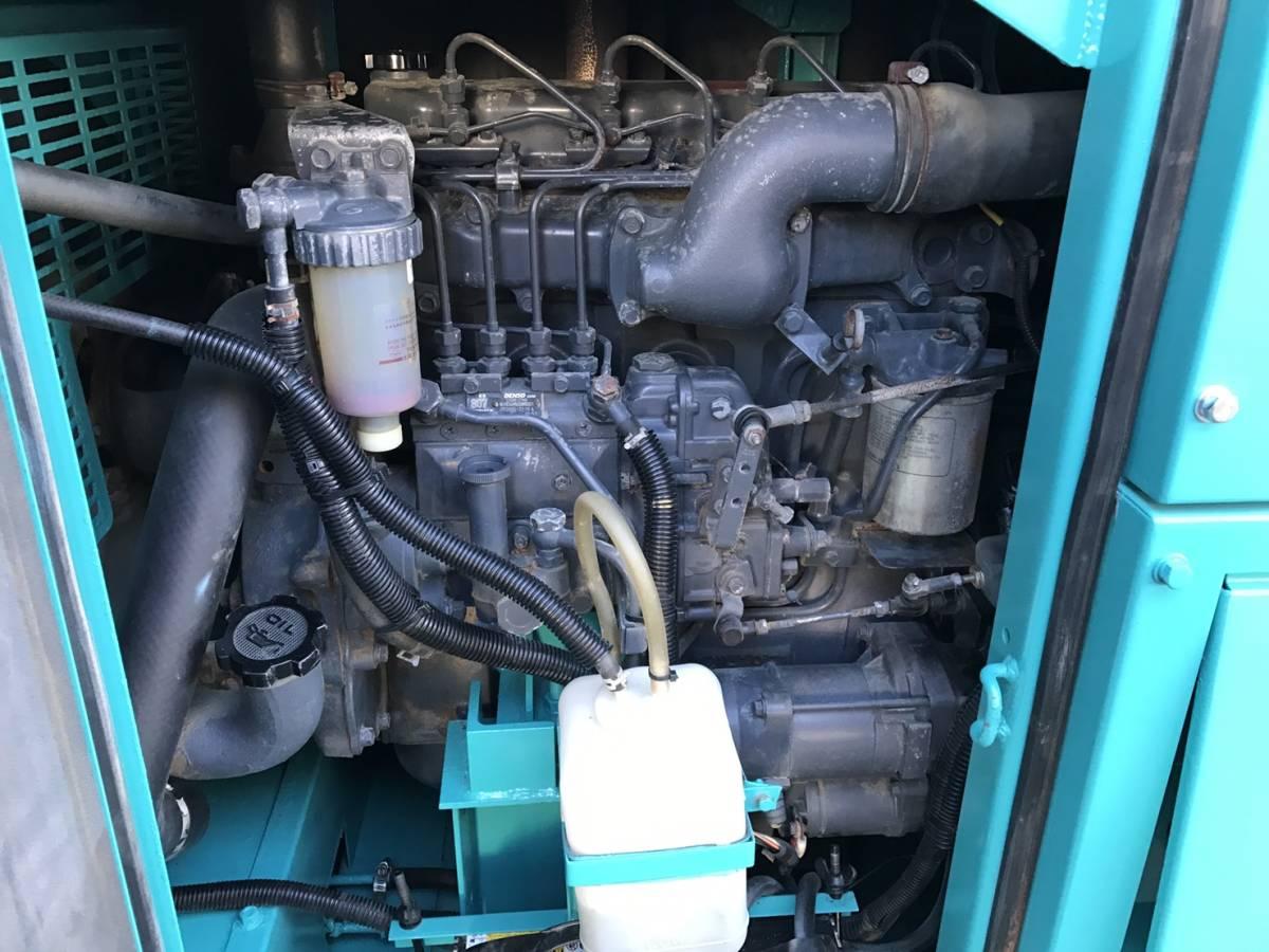 デンヨー 発電機 DCA45SPH 100v 200v-220v_画像6