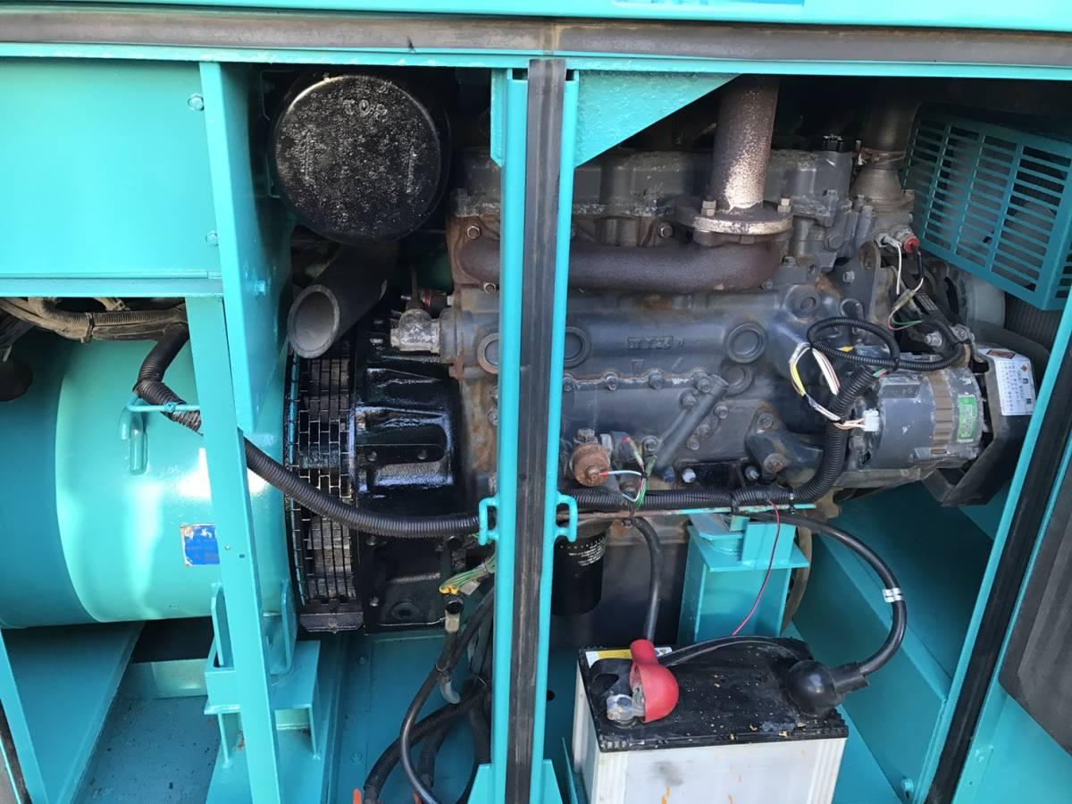 デンヨー 発電機 DCA45SPH 100v 200v-220v_画像4