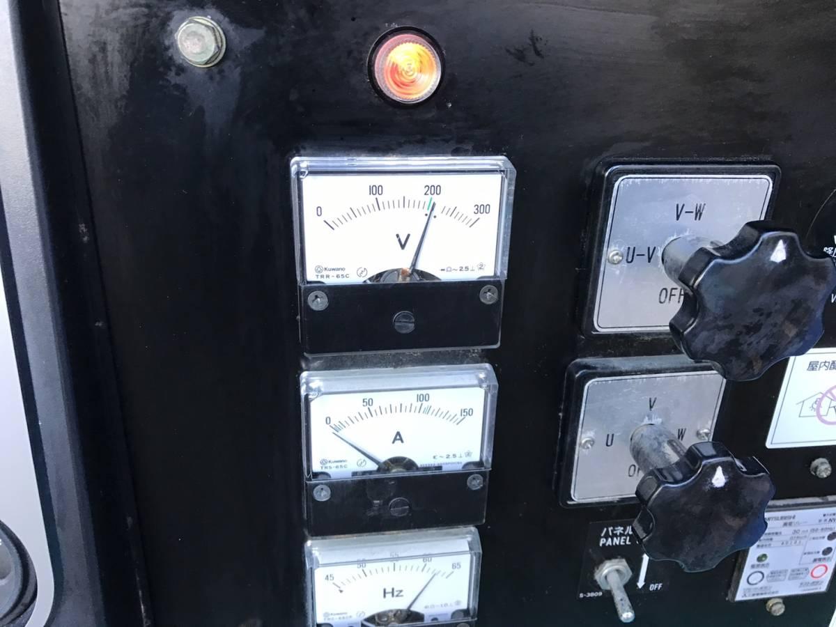 デンヨー 発電機 DCA45SPH 100v 200v-220v_画像8