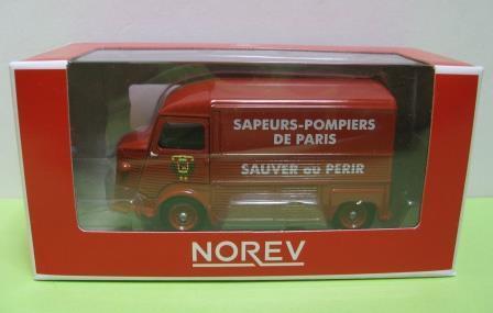 1/64 シトロエンH パリ消防旅団 ...