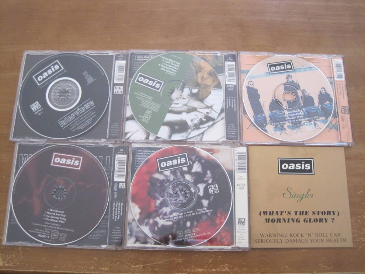 OASIS /  (WHAT'S THE STORY) MORNING GLORY ?   5SCD  輸入盤_画像4