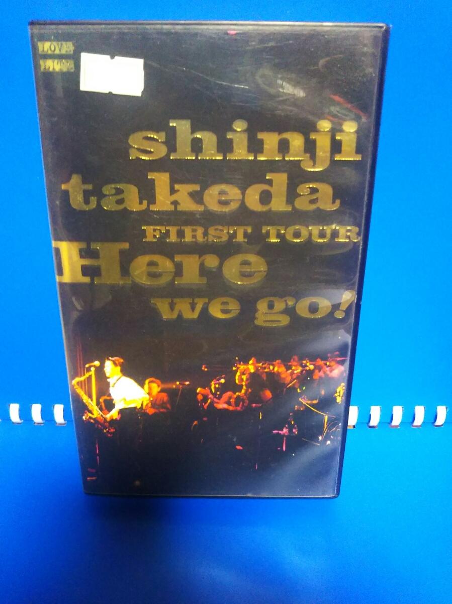 ymk1213 VHS videotape 2000 Shinji Takeda|Here we go! beautiful goods 1995 year rare retro