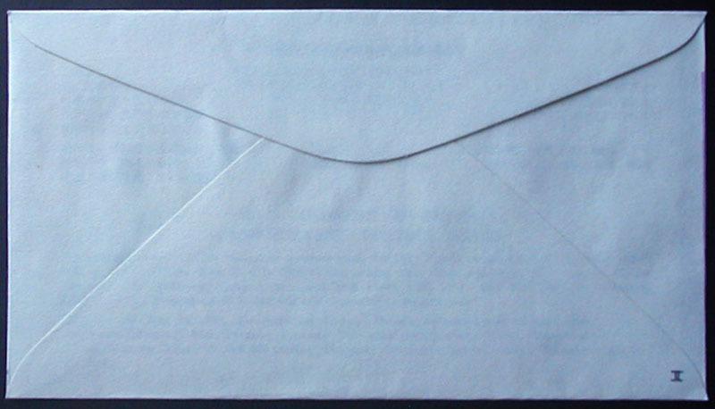 FDC 1982年(昭和57年)第16回国際皮膚科学会議記念 松屋木版 #2 森田基治「能面」 麹町特印_画像4