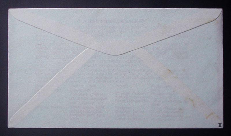 FDC 1966年(昭和41年)簡易保険創業50周年記念 松屋木版 #2 山之内孝夫「つる」 東京特印_画像4