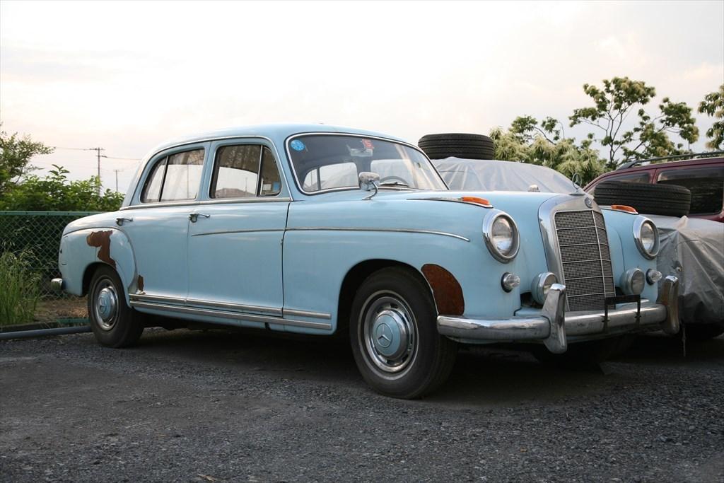 Xmas終了!Mercedes Benz 220S 1957 4MT Barn find最落なし!pontonポントンW180 レスト