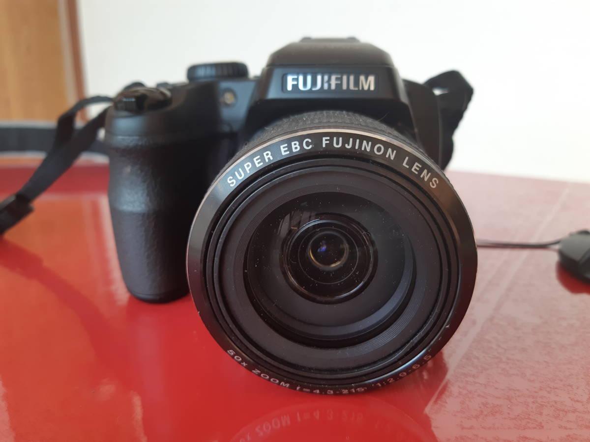 中古FUJIFILM FINEPIX SL1000 予備バッテリーケース8GB SDカード付き格安でどうぞ!!!