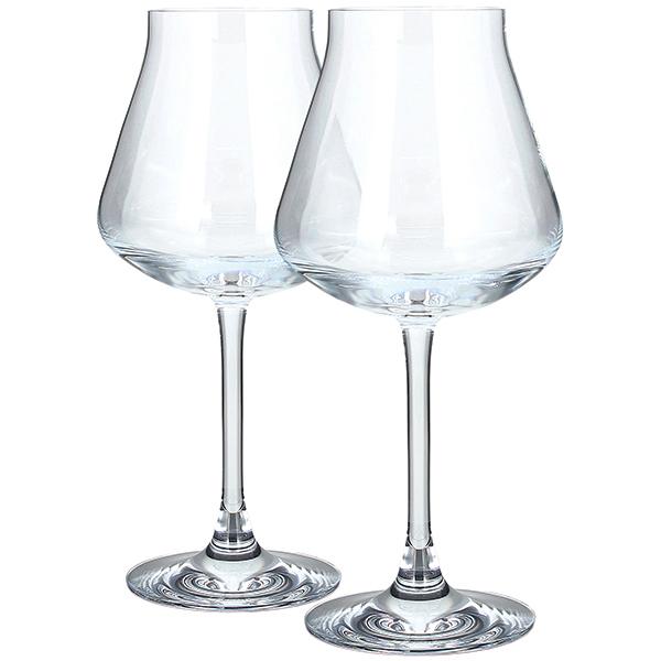 35864 新品 バカラ シャトーバカラ CHATEAU BACCARAT ワイングラス ペア クリスタルグラス コップ ペアグラス 白ワイン 食器 2客セット_画像1