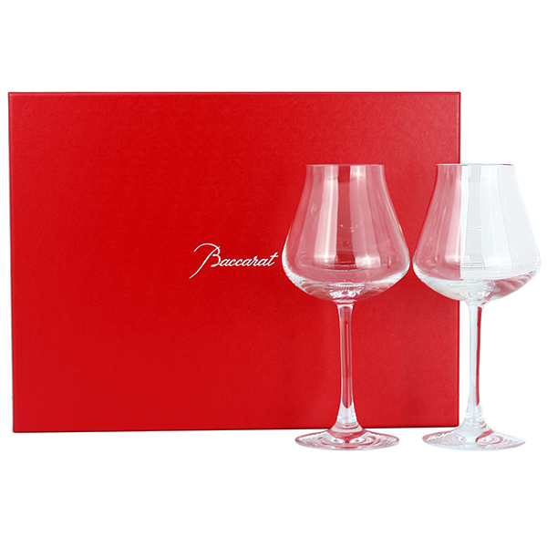 35864 新品 バカラ シャトーバカラ CHATEAU BACCARAT ワイングラス ペア クリスタルグラス コップ ペアグラス 白ワイン 食器 2客セット_画像4
