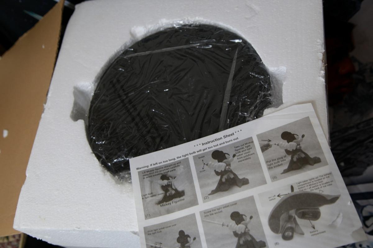 WDW ディズニー・ワールド限定品 スター・ウォーズ ジェダイの騎士&ミッキーマウス コラボレーション ビッグフィギュア ライトセーバー_画像10