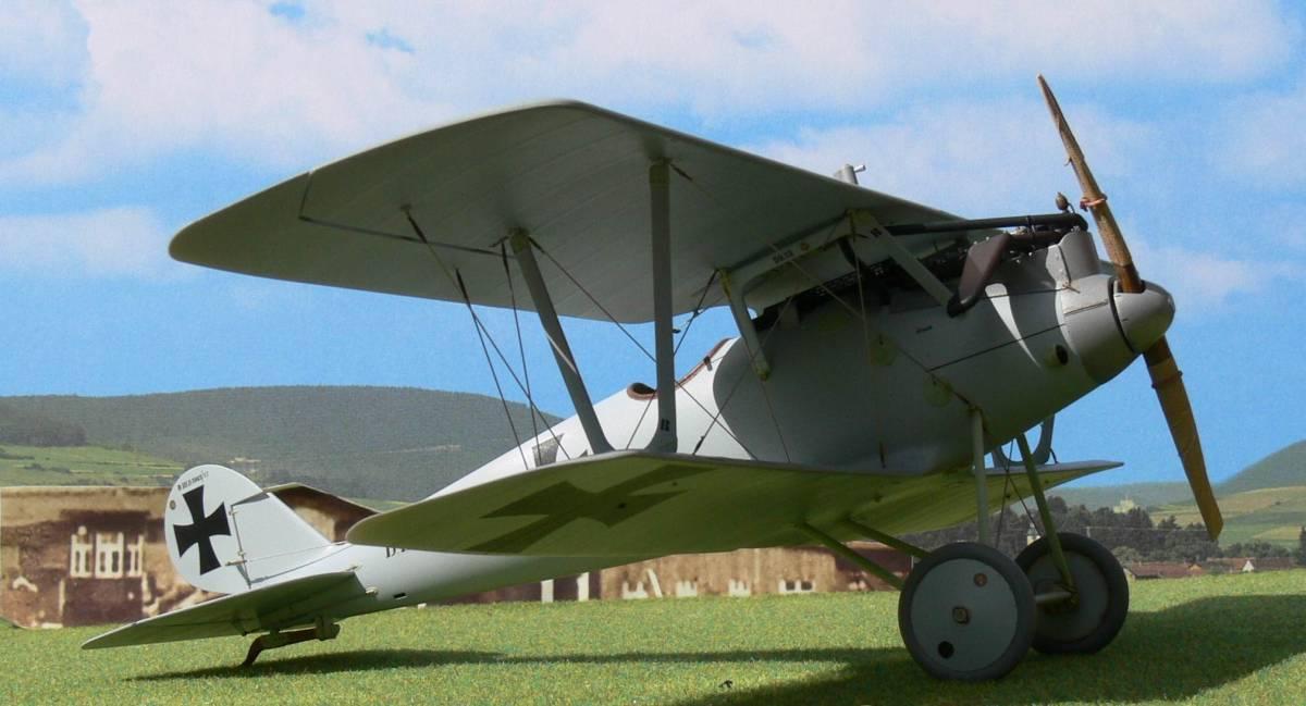 "《ゴム動力機》DPCMODELS製Pfalz D.3(L/C仕様)(翼長:16""=406mm)・・・2"