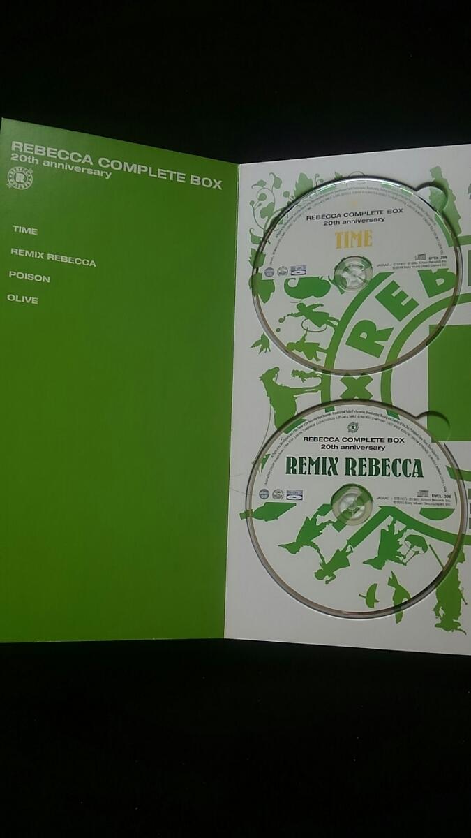 レベッカ COMPLETE BOX 20th anniversary REBECCA DVD 土橋安騎夫 完全生産限定盤 ステッカー NOKKO自筆の歌詞 ライブ アルバム_画像4