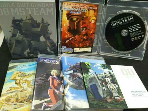 機動戦士ガンダム 第08MS小隊 Blu-ray メモリアルボックス(特装限定版)(Blu-ray Disc)4枚組_画像3