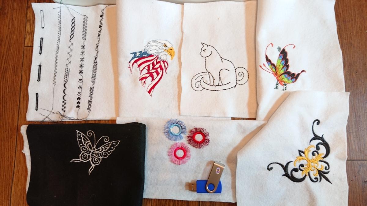 送料無料 ジャノメミシン 刺繍 SECIO セシオ 11500 ジャンク_画像7