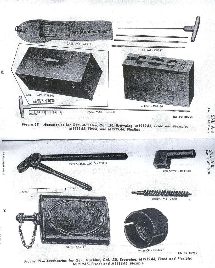 WW2 米軍 クリーニングロッド M1 ブローニングM1919機関銃用 未開封デッドストック_画像4