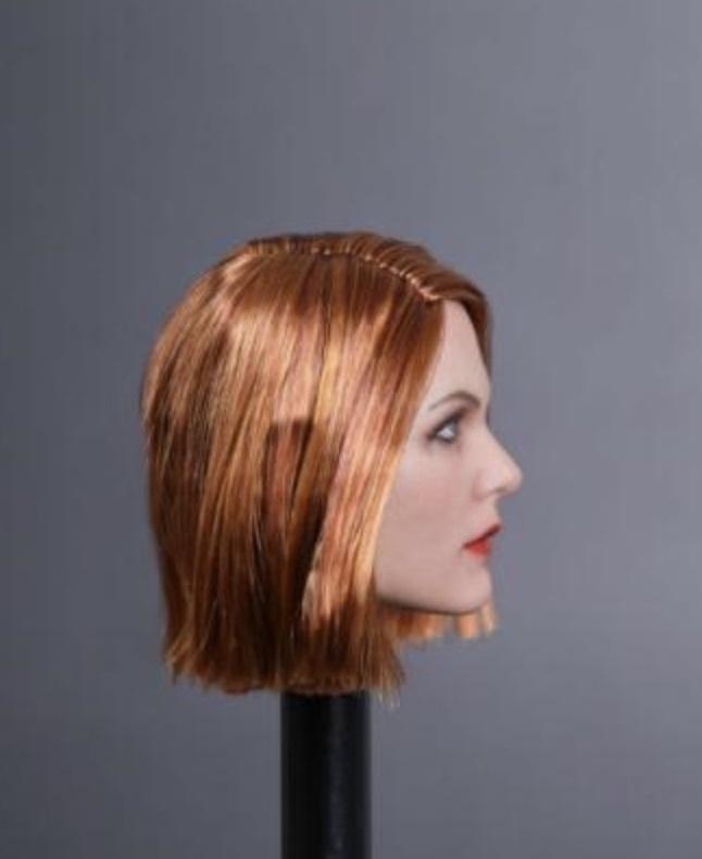 送料無料TBLeague1/6スケール女性素体専用ヘッドパーツ GC019E 高品質植毛_画像3
