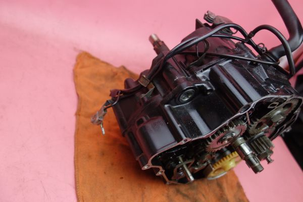 即決 実動  TW200  エンジン クランク ケース コンロッド コンロット クラッチ ギア  DG07J 2JL TW225 200AGq6_画像5