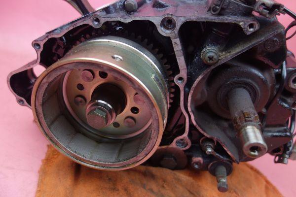 即決 実動  TW200  エンジン クランク ケース コンロッド コンロット クラッチ ギア  DG07J 2JL TW225 200AGq6_画像7