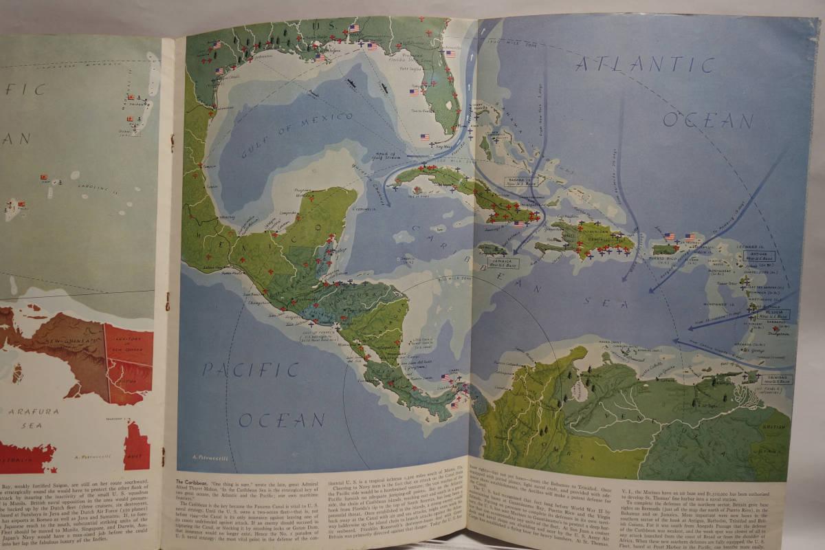 戦時資料 TIME'S ATLAS OF THE WAR タイム 1945年頃_画像4
