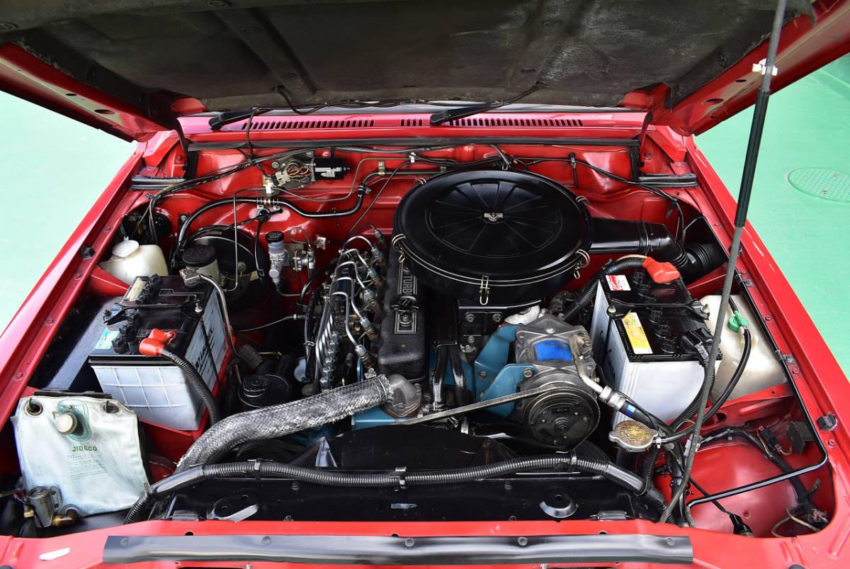 ★あいえす三原★日産サファリ S61年 走行14000キロ・ディーゼル車・5速MT・オリジナル車・ガレージ保管・サビなし★_画像4