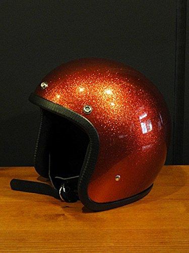 キャンベルヘルメット ジェットヘルメット ヘルメット 500 TX bell BUCO ARTHUR FULMER tt&co ベル ハーレー オーシャンビートル BEETLE_フレークオレンジ